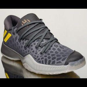 Adidas Harden Bounce Gray/yellow size 16